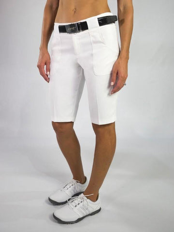 JoFit Red White & You Belted Bermuda Short