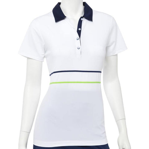 EP Pro Good Sport Tape and Mesh Trim Short Sleeve Polo