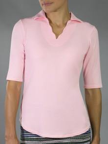 Jofit Paloma Scallop 1/2 Sleeve Polo