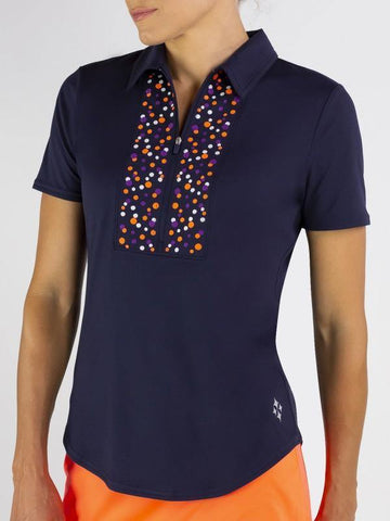 JoFit Mimosa Embroidery Polo