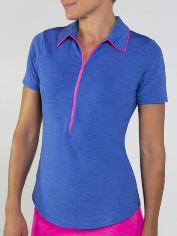 JoFit Champagne Tipped Melange Polo
