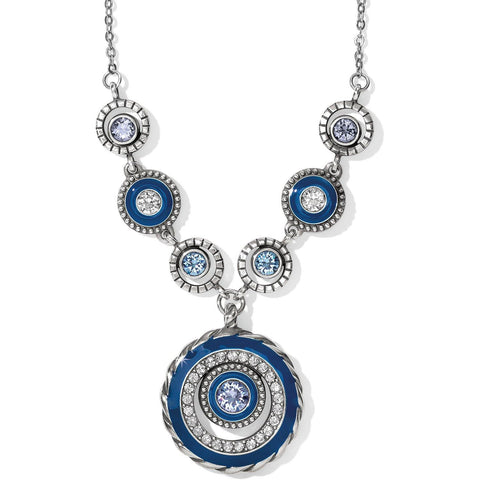 Brighton Halo Eclipse Necklace - Gals on and off the Green