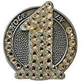 "Bonjoc Swarovski Crystal ""Hole in One"" Ball Marker"