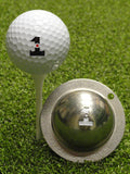 Tin Cup Ball Marker