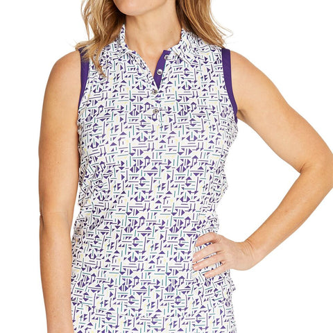 GGBlue Pulse Holly Sleeveless Polo
