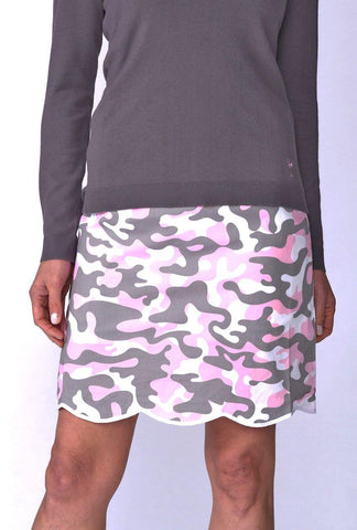 Golftini Incognito Camouflage Skort