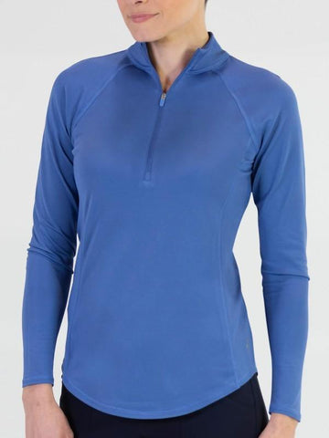 JoFit Dixie Long Sleeve Mock Polo