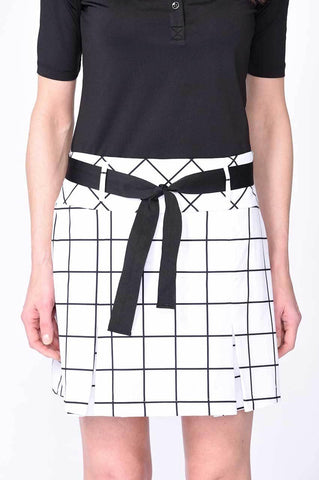 Golftini Jackie O Performance Pleat Skort