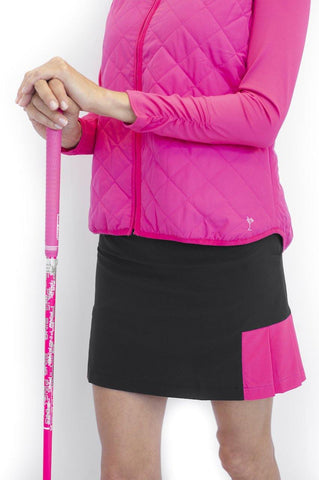 Golftini Life Saver Performance Side Pleat Skort