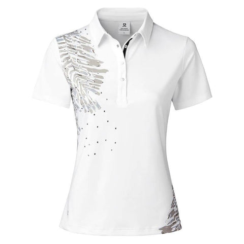 Daily Sports Lynn White Short Sleeve Polo