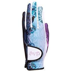 GloveIt Lilac Paisley Golf Glove