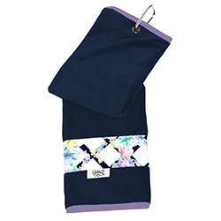 GloveIt Pastel Lattice Sport Towel