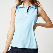 GGBlue Porta Akira Sleeveless Polo (Multiple Colors)