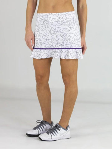 JoFit Sierra Piped Ruffle Skort (Short)