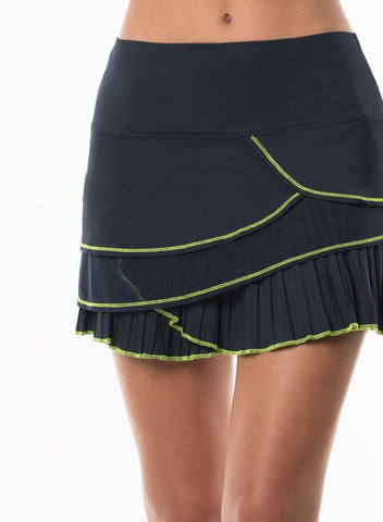 Lucky in Love Pleated Tier Skort