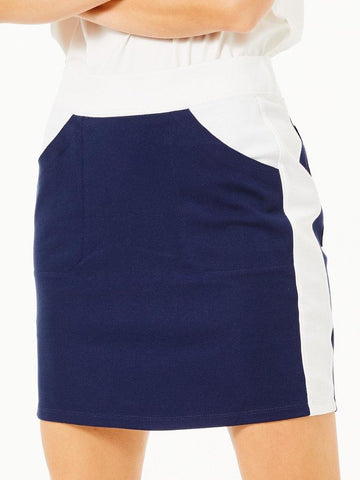 Belyn Key Laguna Ponte Track Skort - Gals on and off the Green