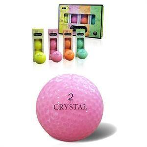 Rainbow Crystal Golf Balls