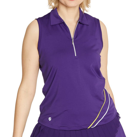 GGBlue Pulse Selina Sleeveless Polo