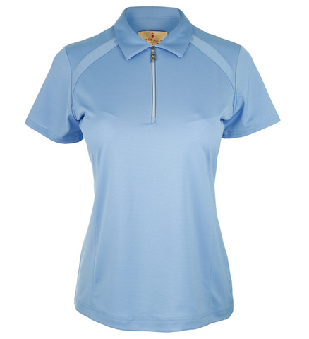 Sport Haley Perry Street Danzy Short Sleeve Polo