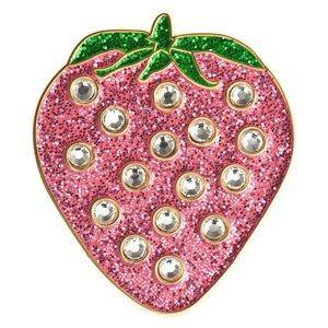 Bonjoc Swarovski Crystal Strawberry Ball Marker