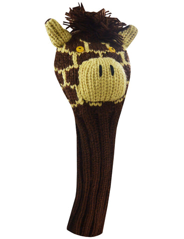 Headcover - Giraffe Knit Fairway