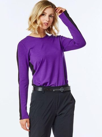 Belyn Key Track Long Sleeve - Gals on and off the Green
