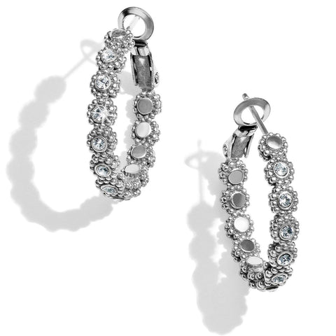 Brighton Twinkle Splendor Small Hoop Earrings - Gals on and off the Green