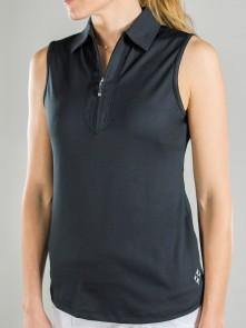 Jofit | Performance Sleeveless Polo (Black or White Essential)