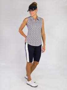 Jofit Bellini Herringbone Sleeveless Polo