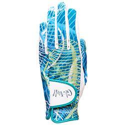 GloveIt Aqua Leaf Golf Glove