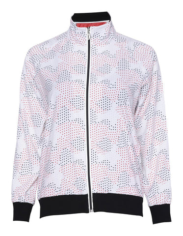 Sport Haley XOXO Lola Dot Print Long Sleeve Jacket