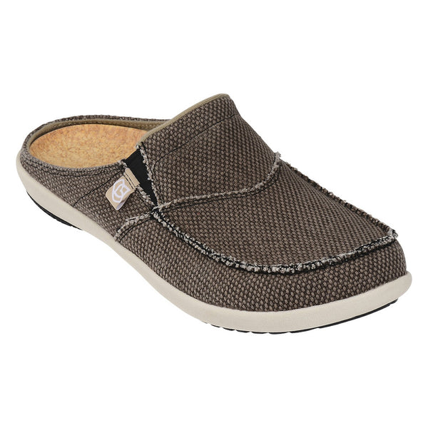 Men's siesta slide brown color Spenco sandal