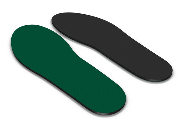 Top and Bottom view of the Spenco rx comfort orthotic insoles