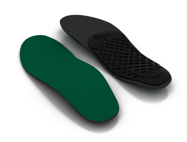Top and Bottom view of the Spenco rx arch cushion orthotic Insoles