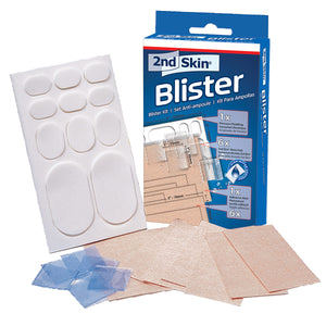 Spenco 2nd skin blister kit full display of inside stuff
