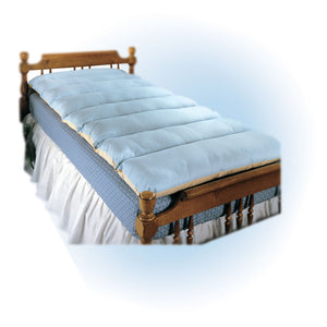 Spenco Silicore comfortable bed pad on top of bed matrees