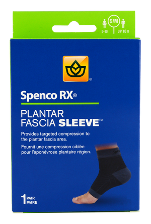 Spenco Planter Fascia sleeve in a package
