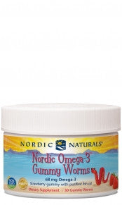Nordic Omega 3 Gummy Worms