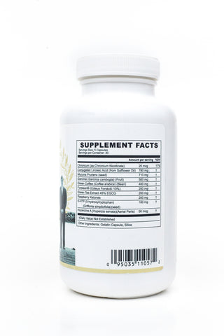 Dr. Salerno's Slim Factor - Dietary Supplement - Supplement Facts