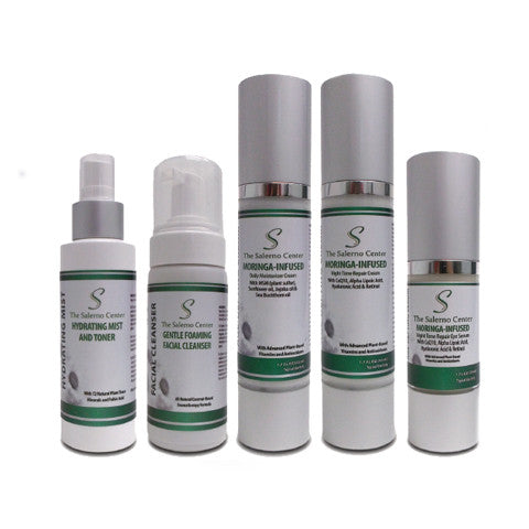 Salerno Moringa-Infused, Age-Defying Skin Care System