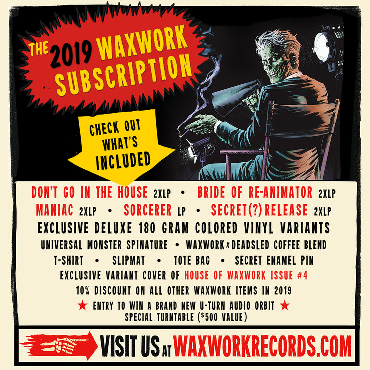 2019 Waxwork Records Subscription