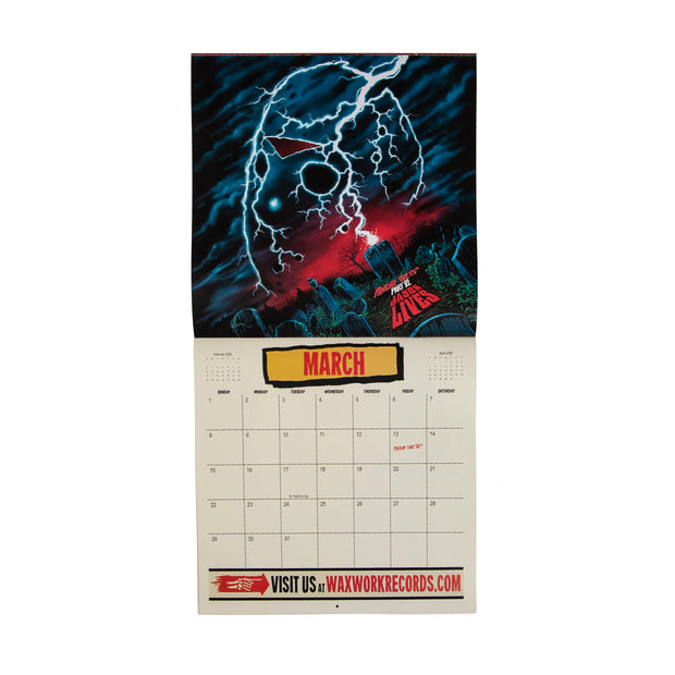 2020 Waxwork Records Calendar