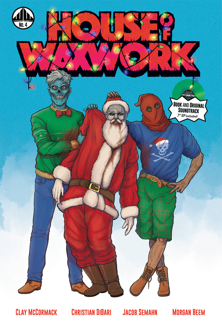 House of Waxwork Issue 4