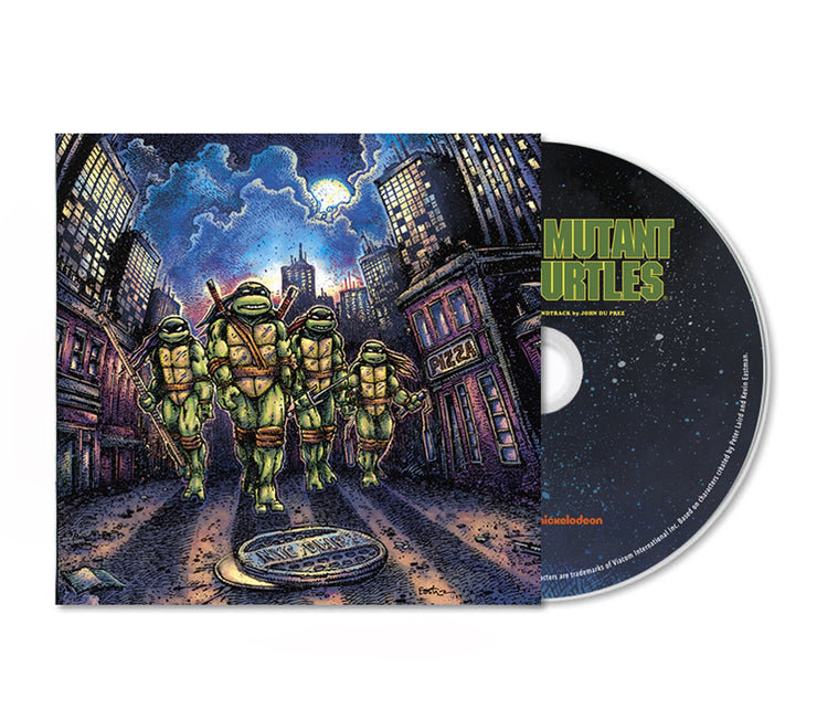 Teenage Mutant Ninja Turtles CD