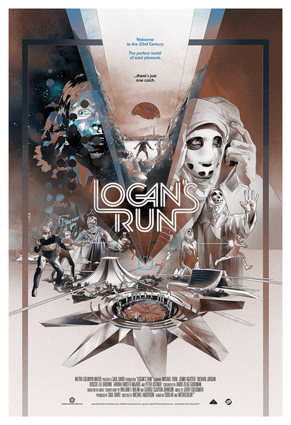 Logan's Run Variant Poster