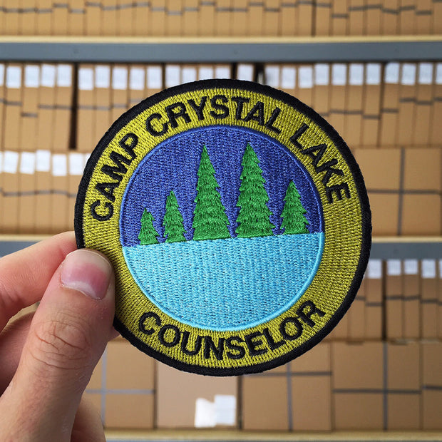 Camp Crystal Lake Counselor Patch