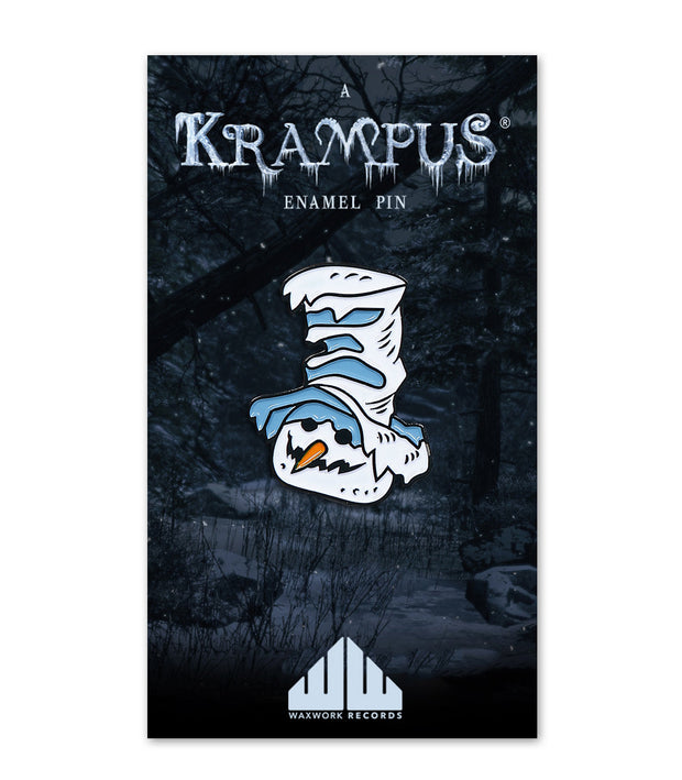 Krampus Enamel Pins