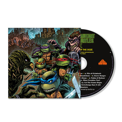 Teenage Mutant Ninja Turtles Part II: The Secret of the Ooze CD