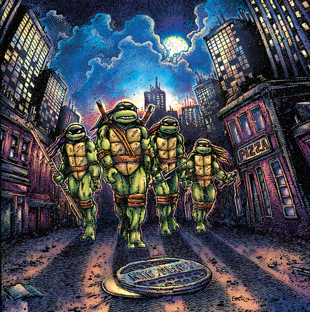 Teenage Mutant Ninja Turtles Waxwork Records