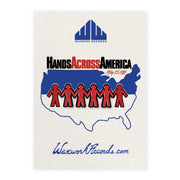 Hands Across America Pin